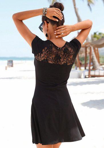 Mit Rücken Strandkleid Beachtime Im Spitze pSqw78