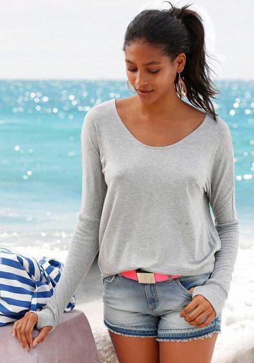 Bench. Strandshirt mit tiefem Rückenausschnitt