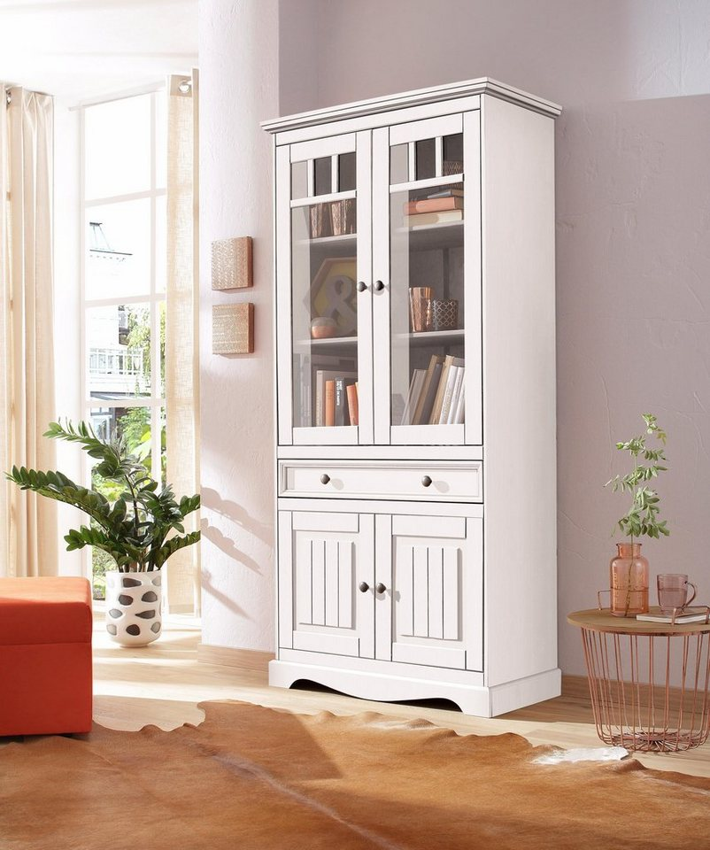 home affaire vitrine melissa h he 190 cm kaufen otto. Black Bedroom Furniture Sets. Home Design Ideas