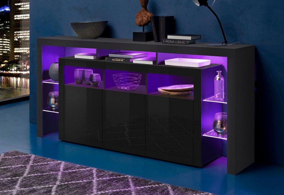 borchardt m bel sideboard breite 192 cm kaufen otto. Black Bedroom Furniture Sets. Home Design Ideas