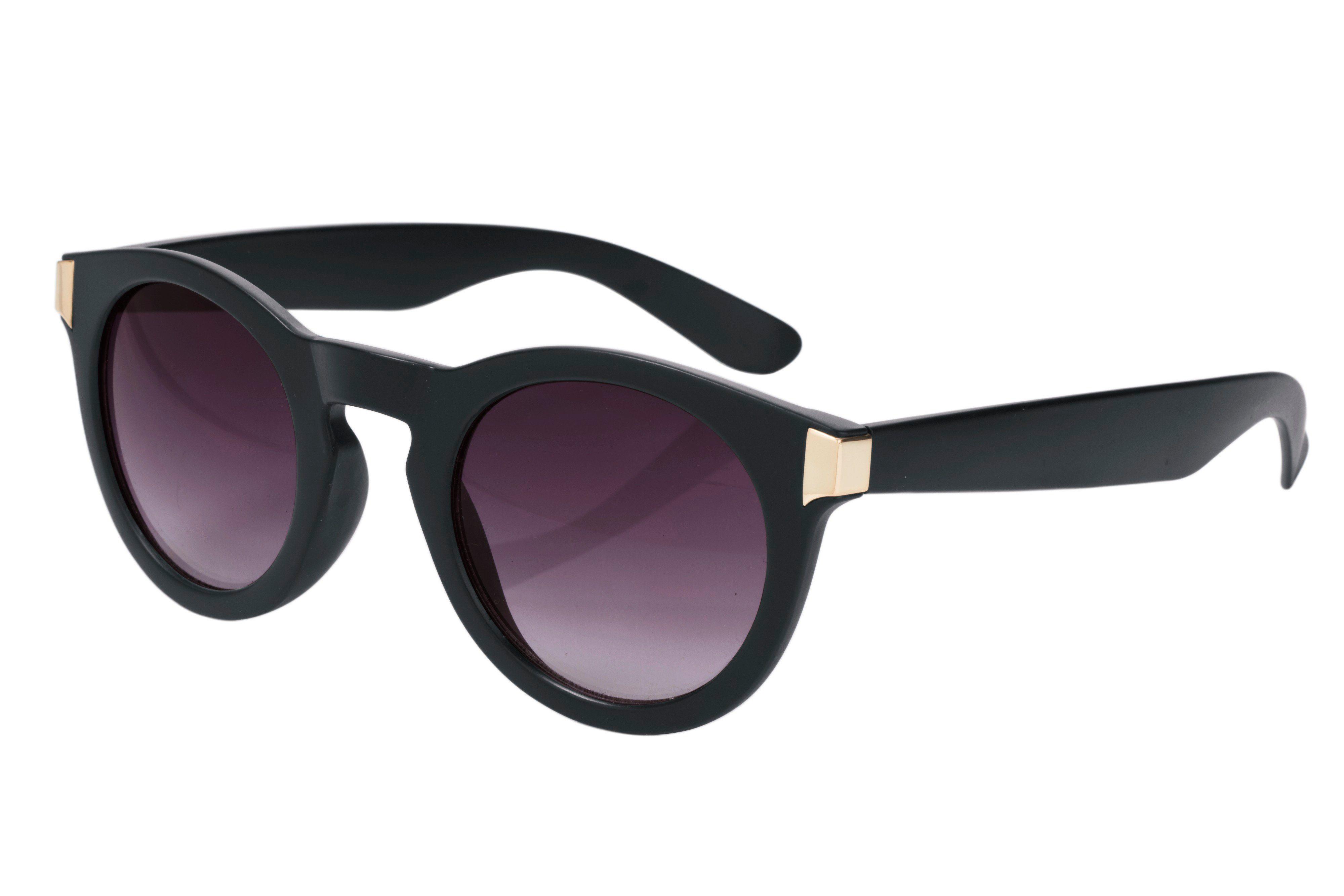 heine Damen Sonnenbrille mit Farbverlauf, schwarz