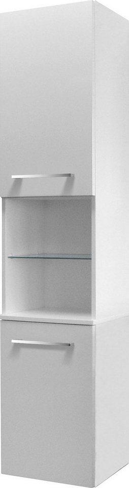 FACKELMANN Hochschrank »Rondo«, Breite 35,5 cm in weiß
