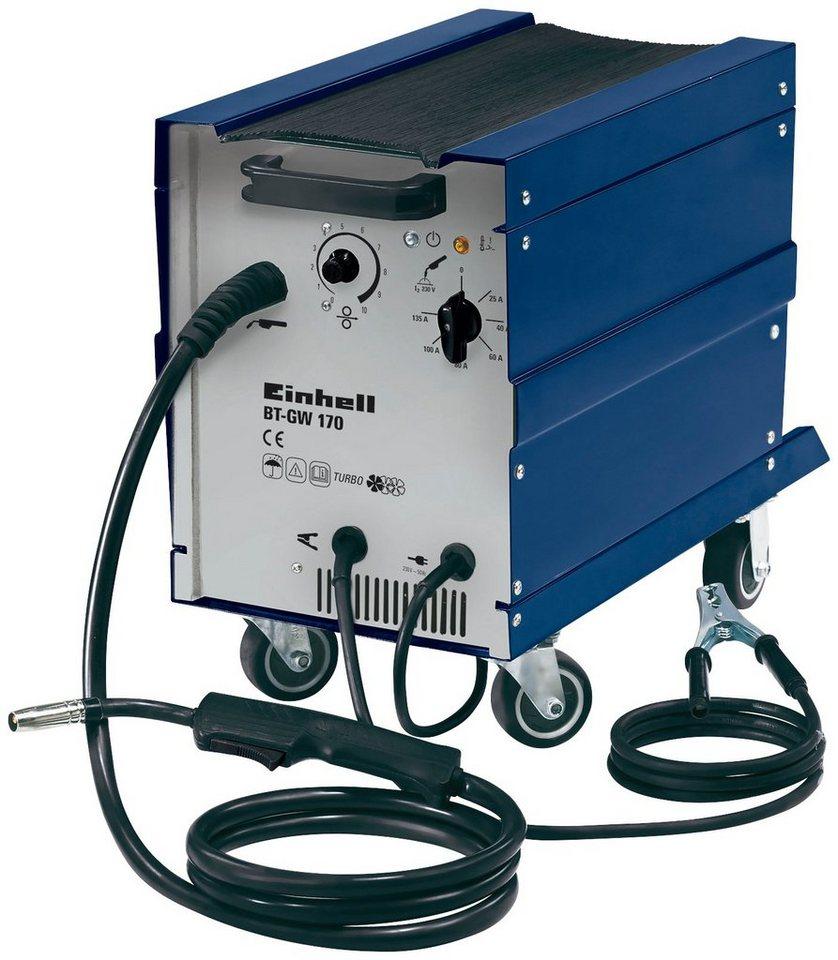 Schutzgasschweißgerät »BT-GW 170« in blau