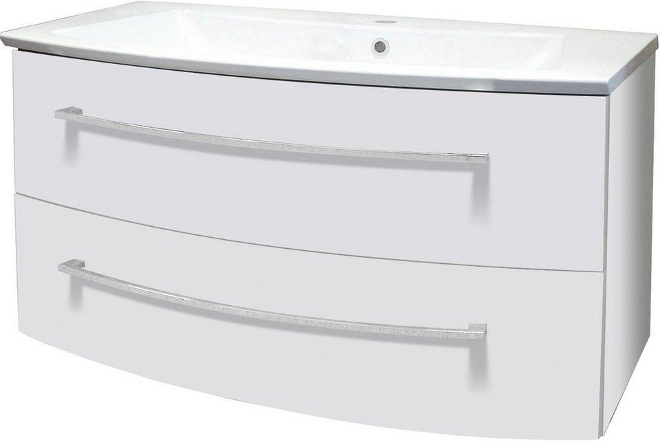Fackelmann Waschtisch »Rondo«, Breite 100 cm in weiß