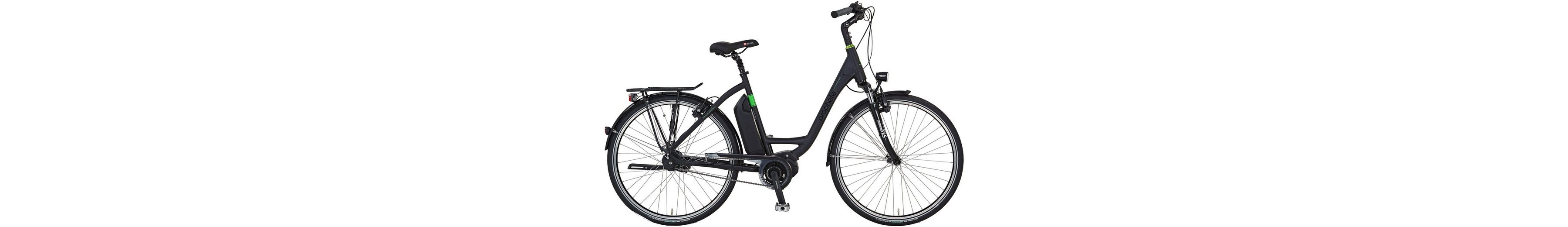 E-Bike City Damen »Limited Edition«, 28 Zoll, 8-Gang, Mittelmotor, 417 Wh, RH50