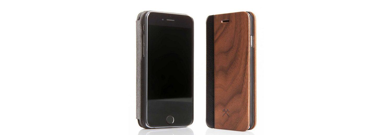 Woodcessories EcoCase - iPhone 6 / 6s Echtholz Flipcase - Donald