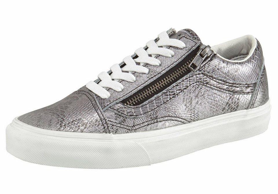 Vans »Old Skool Zip« Sneaker in silberfarben