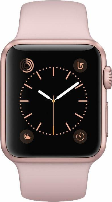 apple watch s1 aluminiumgeh use 38mm mit sportarmband. Black Bedroom Furniture Sets. Home Design Ideas
