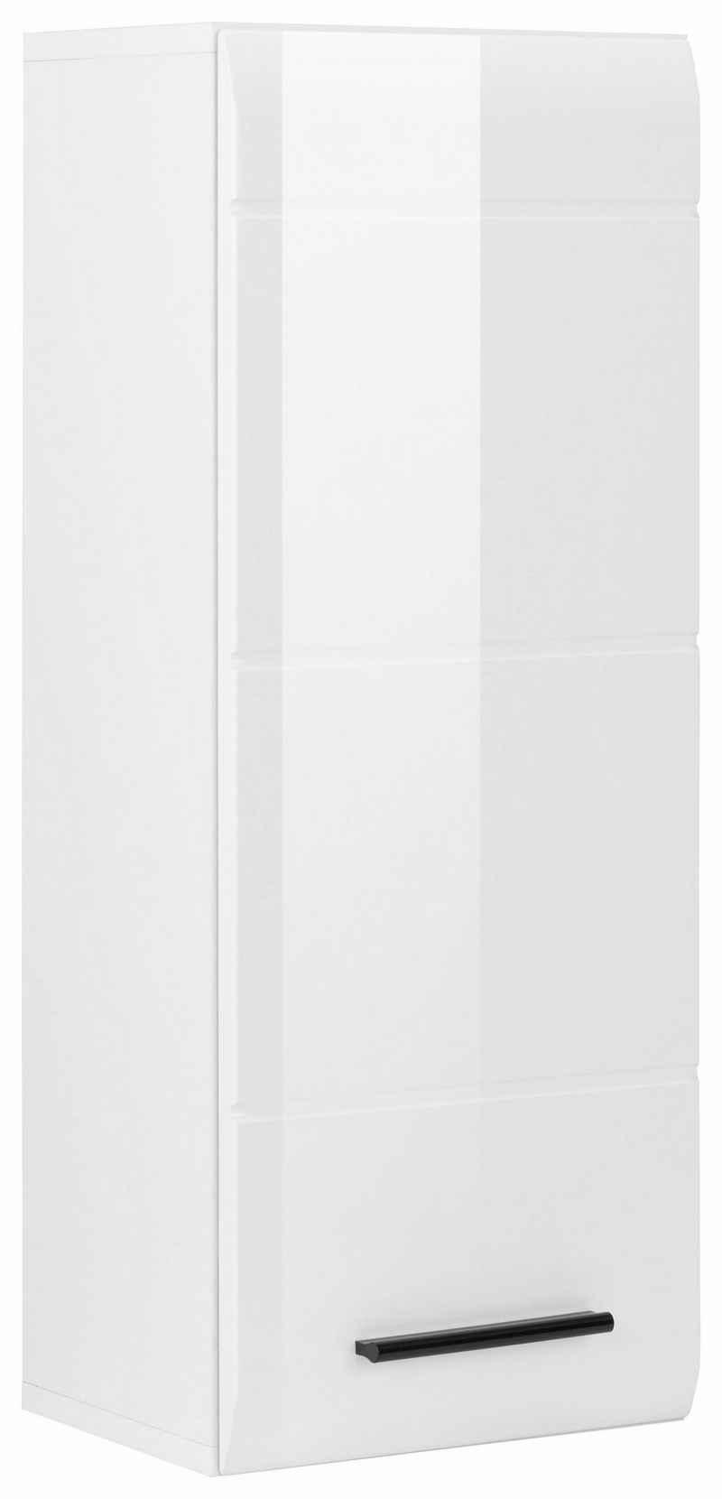 trendteam Hängeschrank »Skin« Höhe 77 cm, Badezimmerschrank mit Fronten in Hochglanz- oder Holzoptik