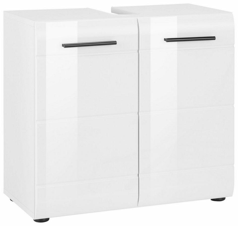 Welltime Waschbeckenunterschrank »Skin« in weiß