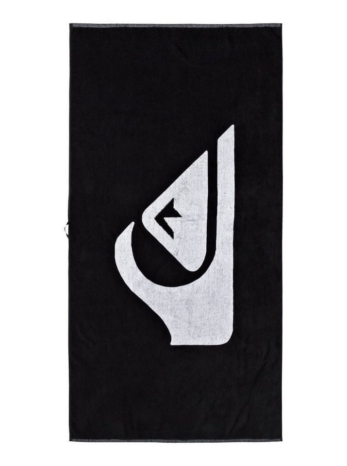 Quiksilver Handtuch »Woven Logo« in Anthracite