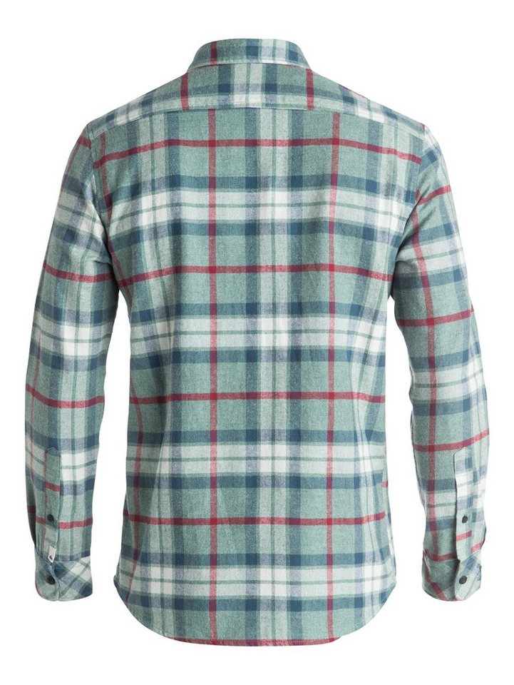 Quiksilver Langarm-Hemd »Fitzthrower Flannel« in chinois green