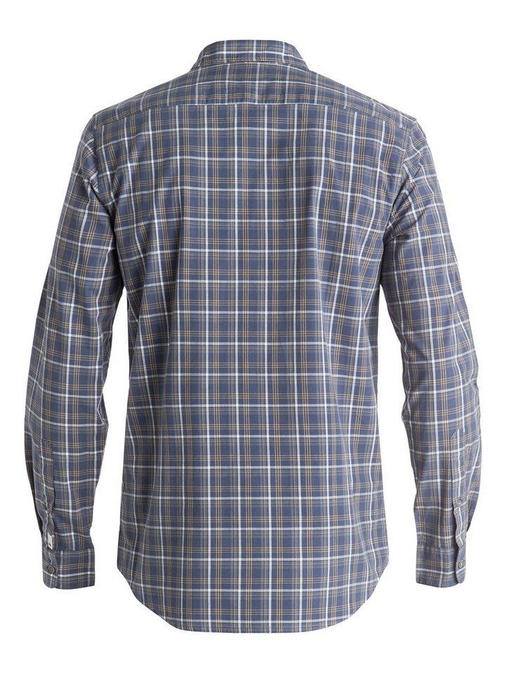 Quiksilver Langarm-Hemd »Everyday Check« in nightshadow blue