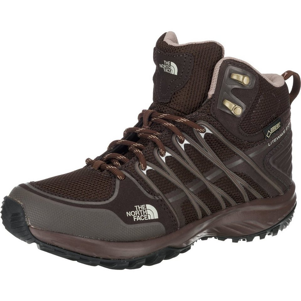 THE NORTH FACE Litewave Explore Mid Gtx Stiefeletten in dunkelbraun