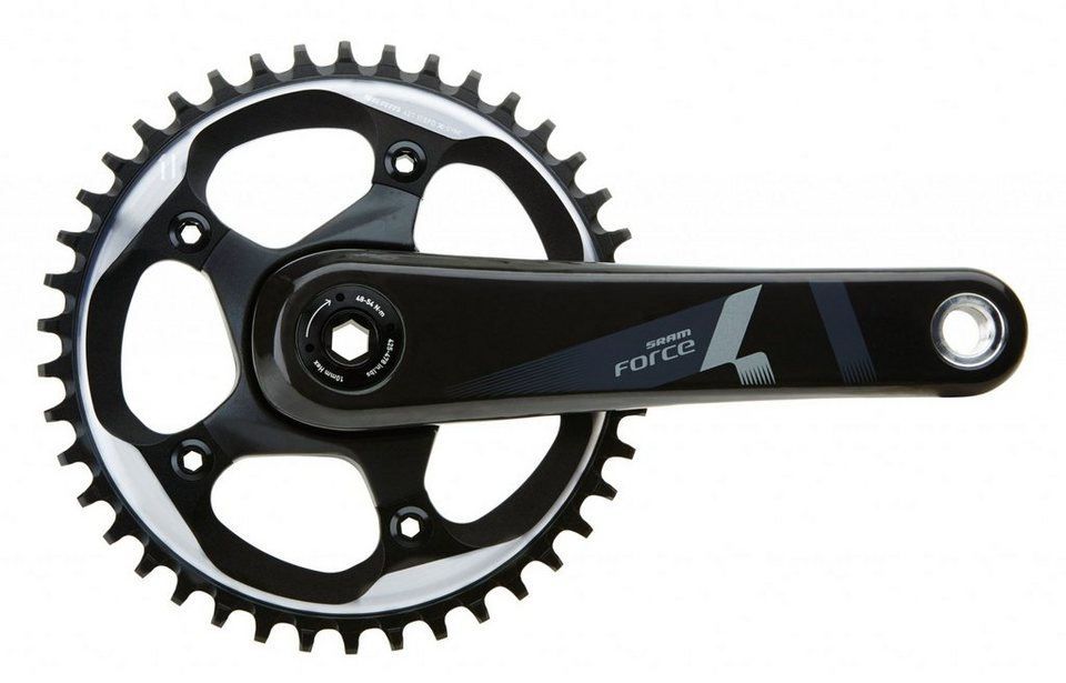 SRAM Kurbel »Force 1 Kurbelgarnitur 175mm BB30«