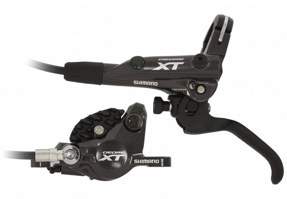 Shimano Scheibenbremse »Deore XT BR-M8000 Scheibenbremse mit Kühlrippen VR«