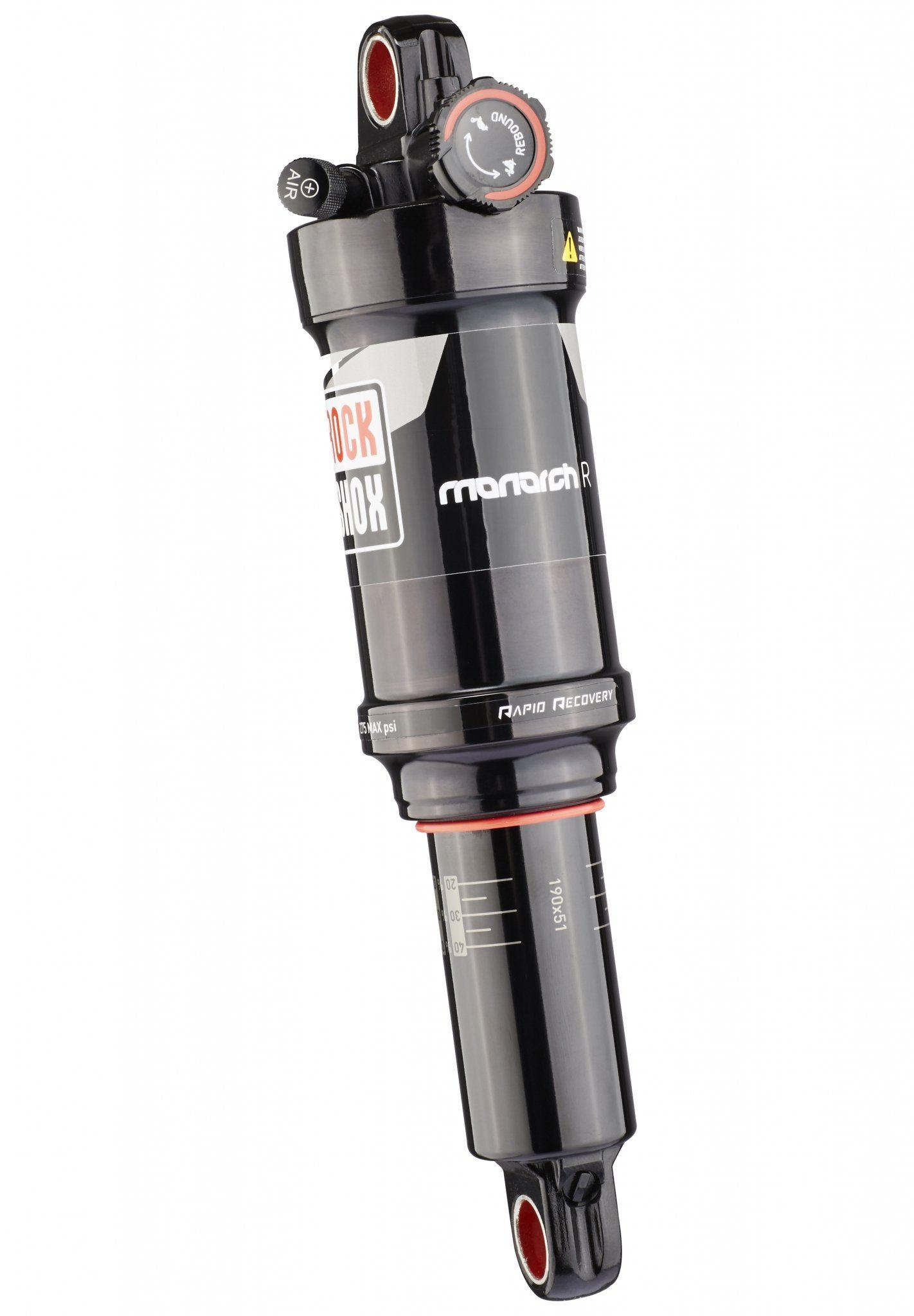 RockShox Fahrrad Dämpfer »Monarch R 190 x 51mm Tune mid/mid«
