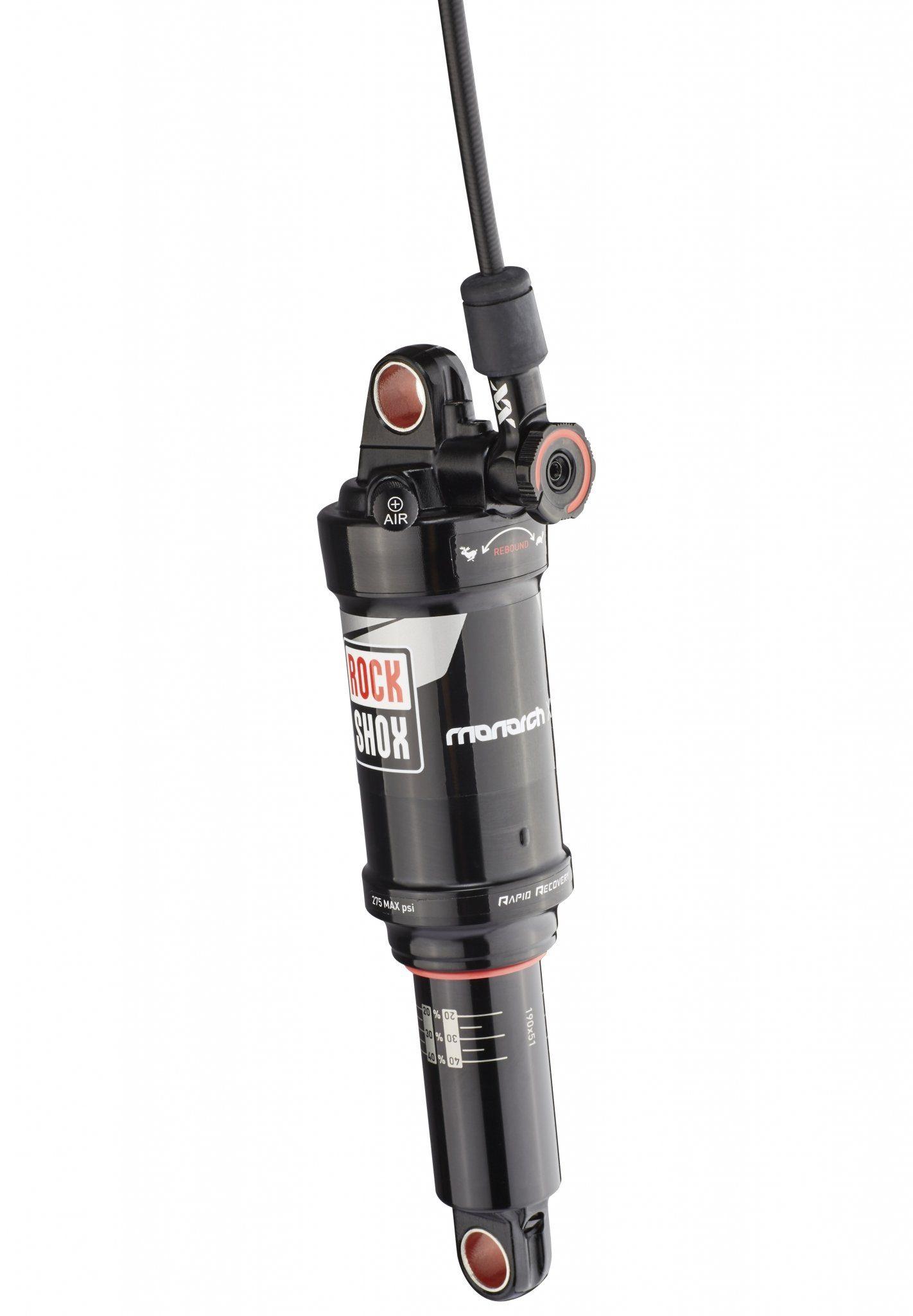 RockShox Fahrrad Dämpfer »Monarch XX 190 x 51mm 430 LF Tune mid/mid«