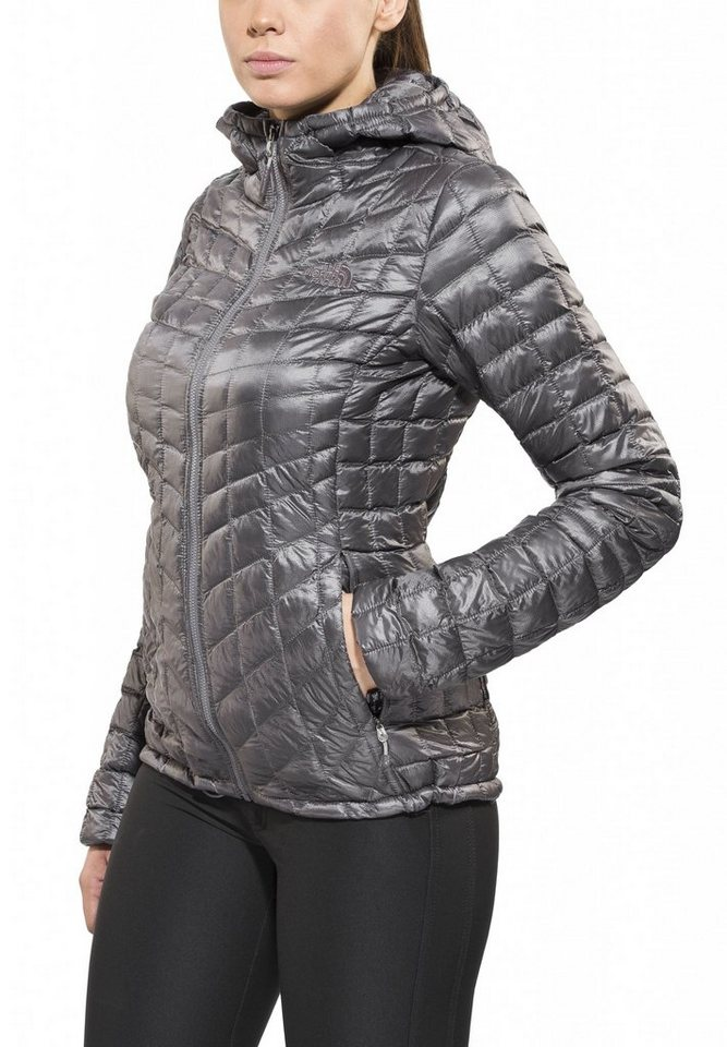The North Face Outdoorjacke »ThermoBall Hoodie Women« in grau