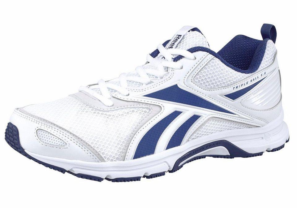 Reebok »Triplehall 5.0« Laufschuh in weiß-blau