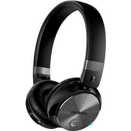 Philips SHB8850NC On-Ear-Kopfhörer, Active Noise Cancelling Geräuschreduzierung Bluetooth NFC