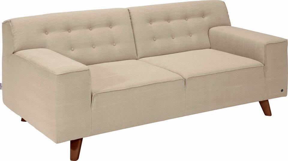 TOM TAILOR 2-Sitzer Sofa »NORDIC CHIC« im Retrolook, Füße ...