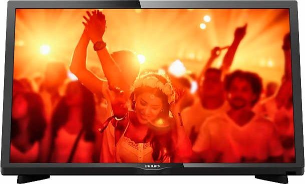 Philips 24PHS4031, LED Fernseher, 60 cm (24 Zoll) in schwarz