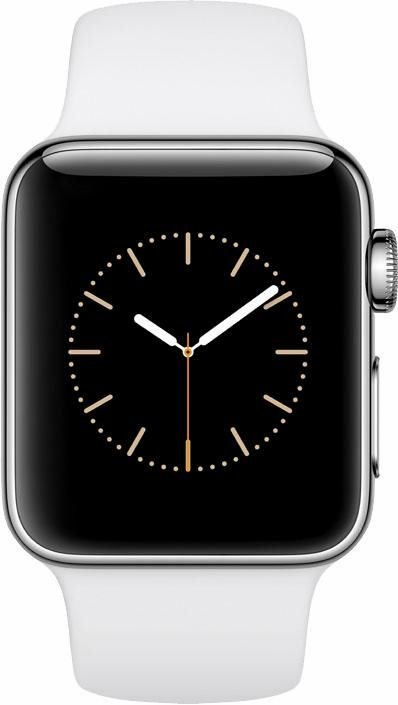 apple watch s2 edelstahlgeh use 38mm mit sportarmband. Black Bedroom Furniture Sets. Home Design Ideas
