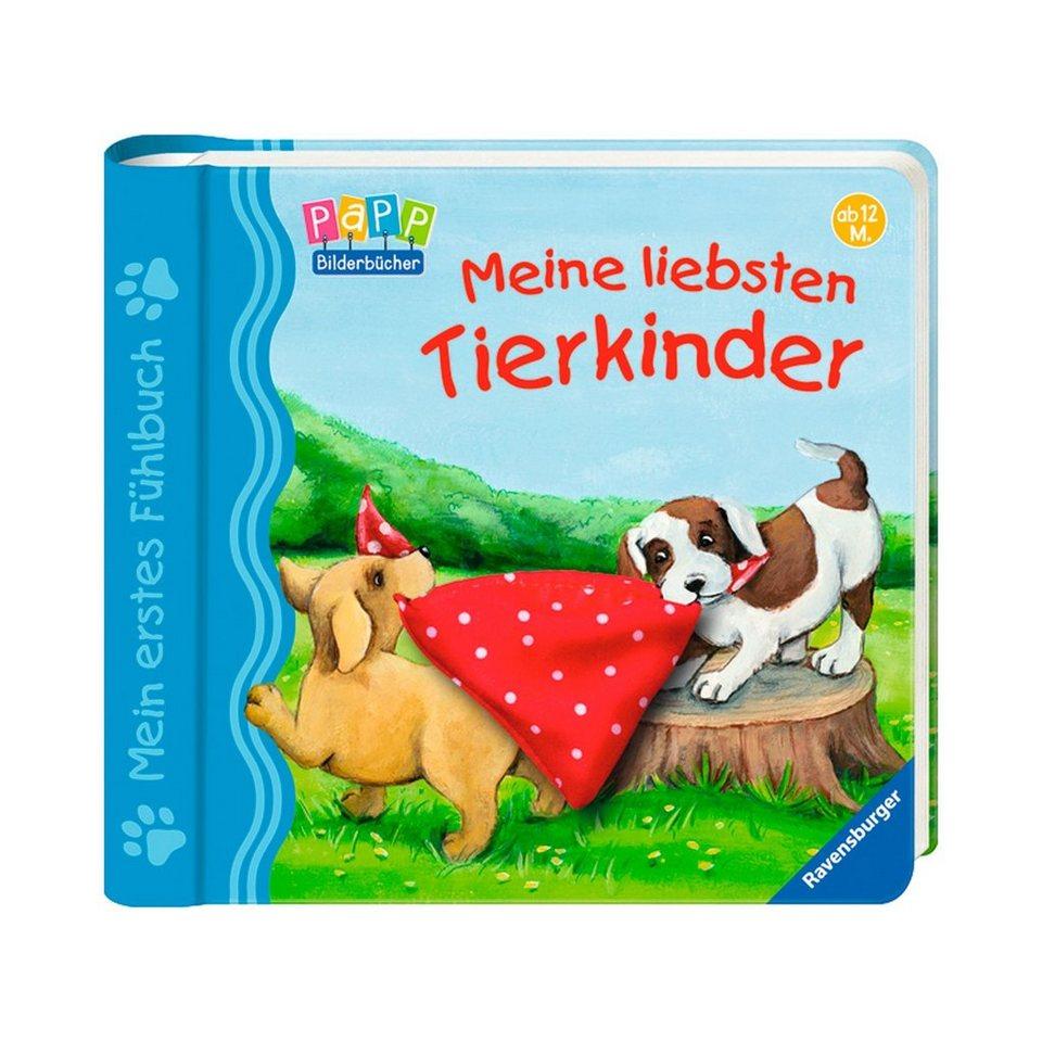RAVENSBURGER Mein erstes Fühlbuch: Meine liebsten Tierkinder in mehrfarbig