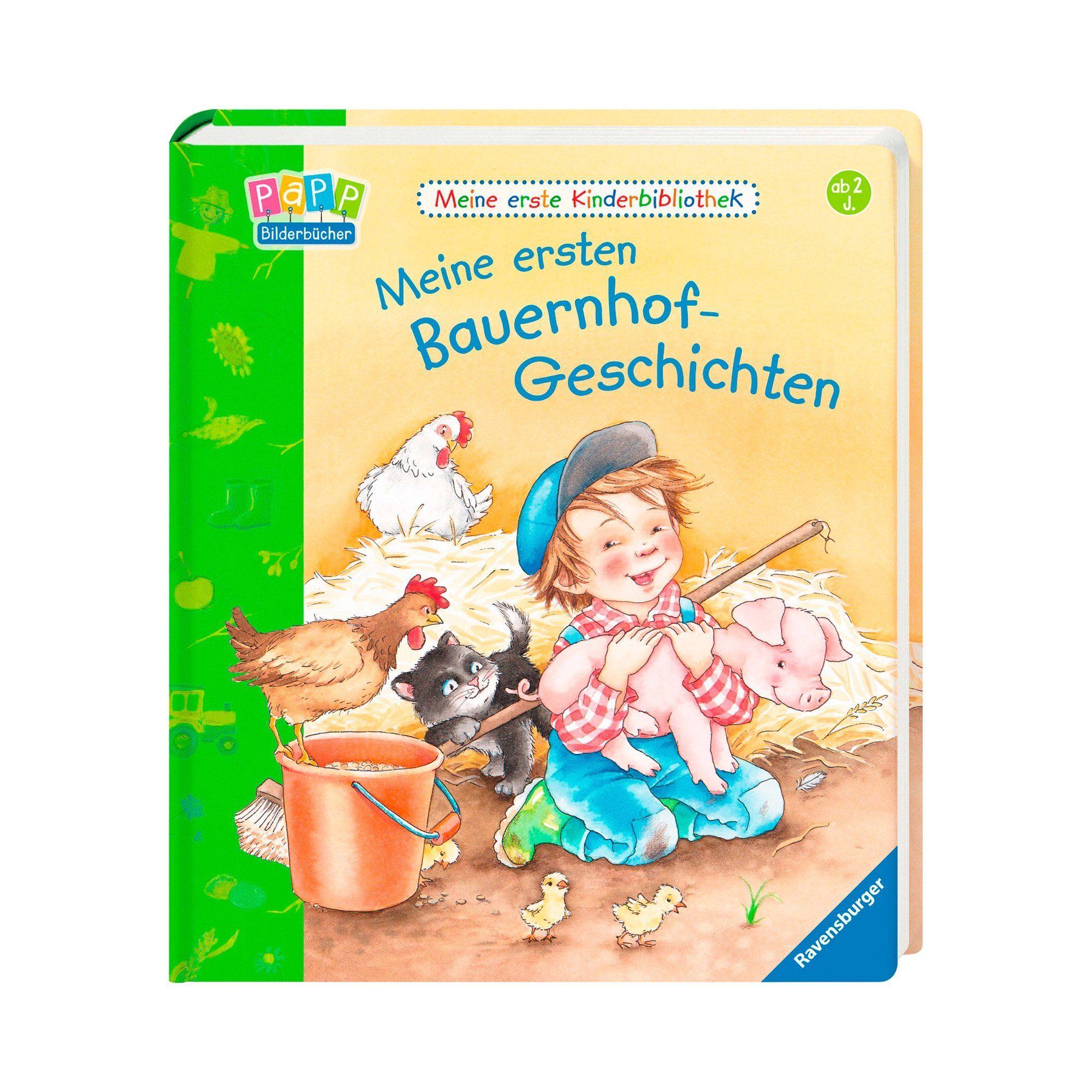 Ravensburger Pappbilderbuch-Meine ersten Bauernhof-Geschichten