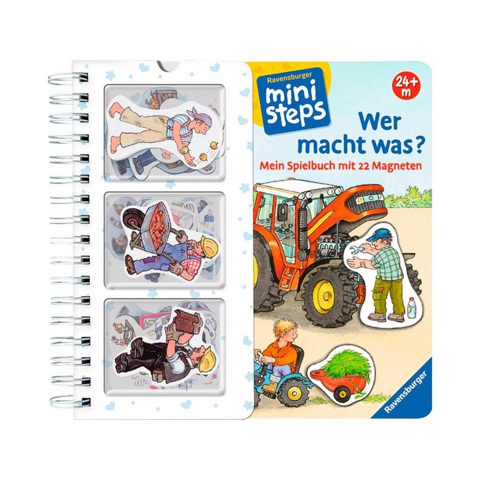 RAVENSBURGER Spielbuch: Wer macht was? in mehrfarbig