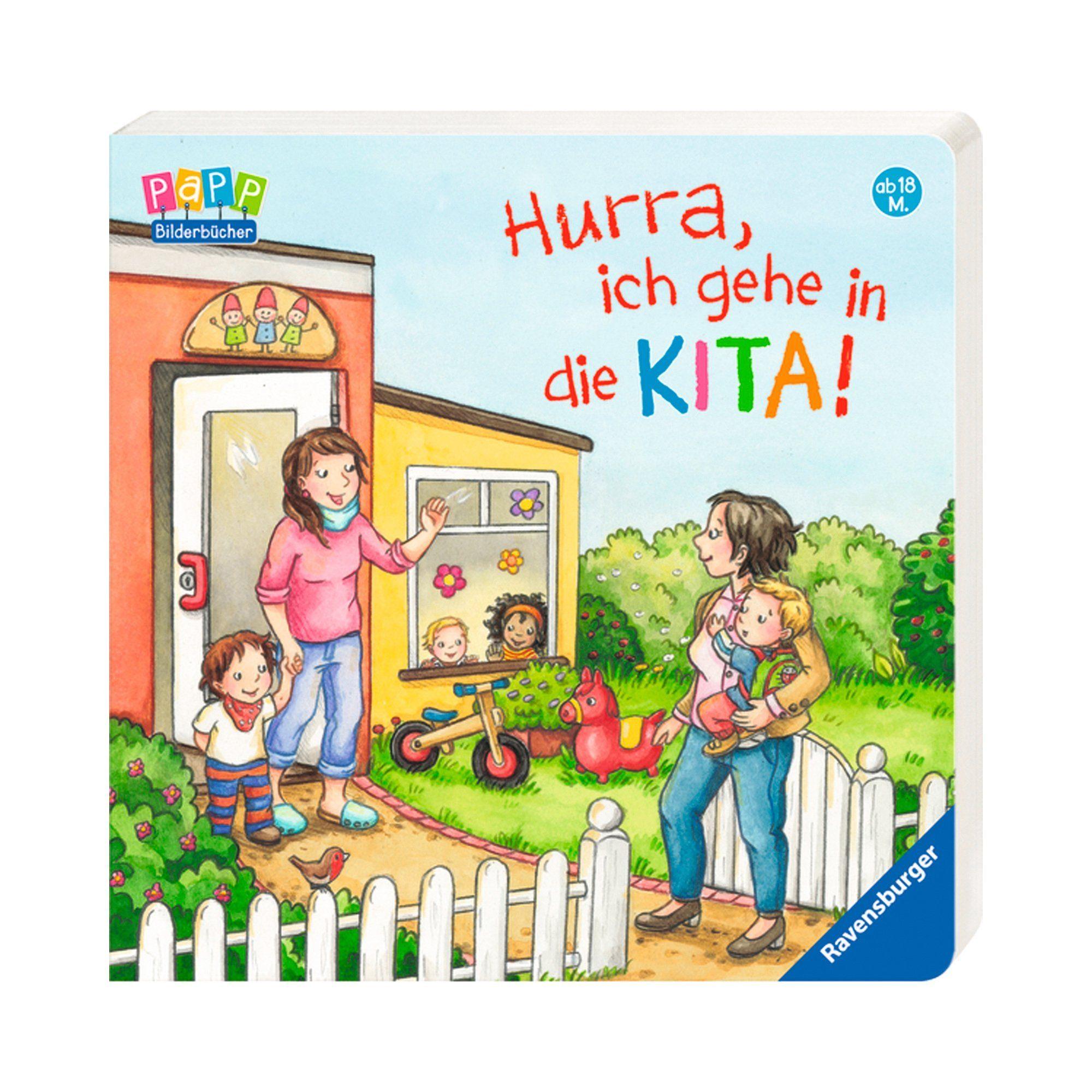 Ravensburger Pappbilderbuch-Hurra, ich gehe in die Kita!