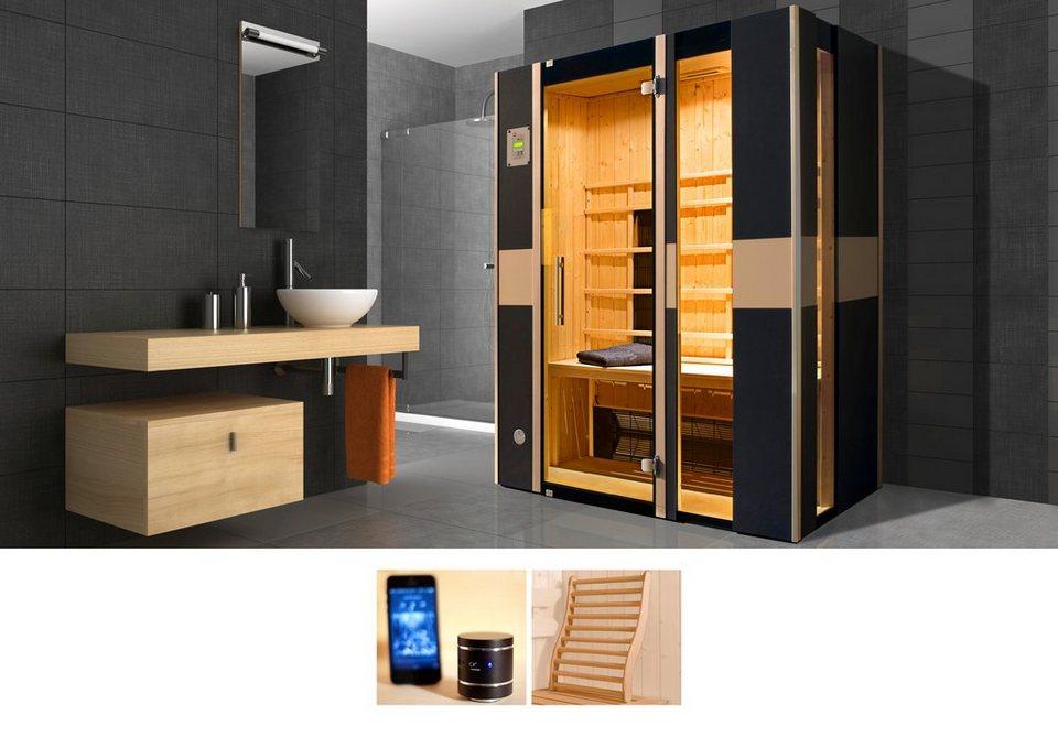 infrarotkabine viborg 137 100 190 cm 59 mm f r bis zu 2 personen online kaufen otto. Black Bedroom Furniture Sets. Home Design Ideas
