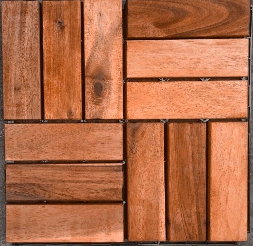 merxx klick fliesen holz eukalyptus fl che 3 6 m paket braun online kaufen otto. Black Bedroom Furniture Sets. Home Design Ideas
