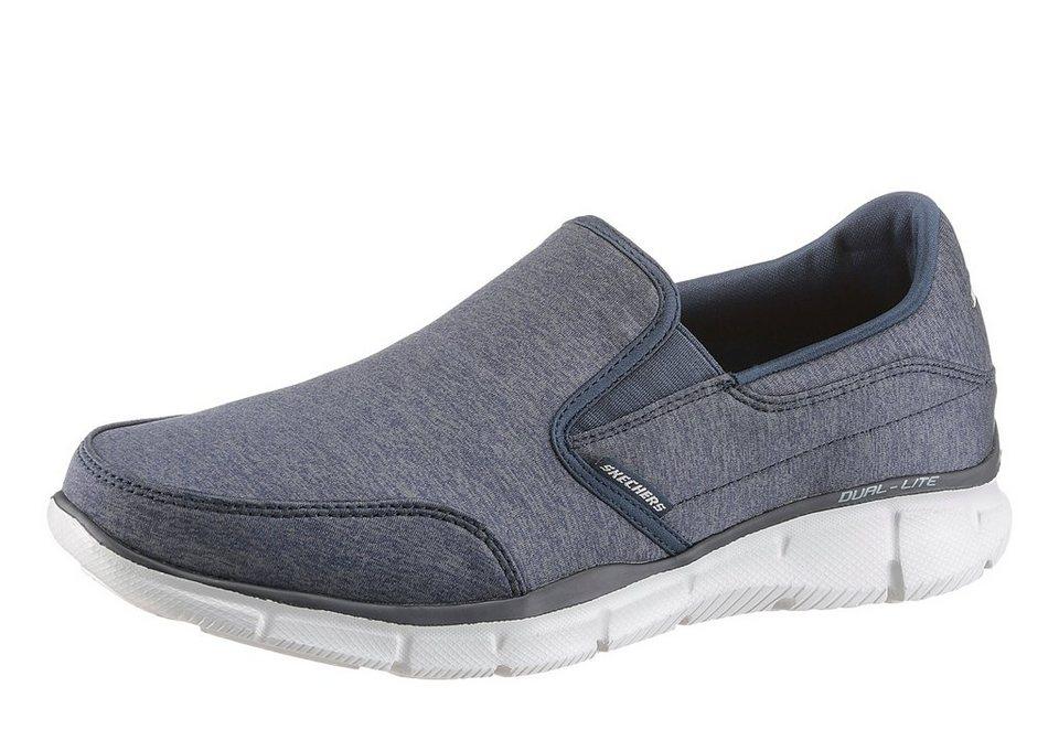 Skechers Sneaker mit Skechers Memory Foam in navy-grau