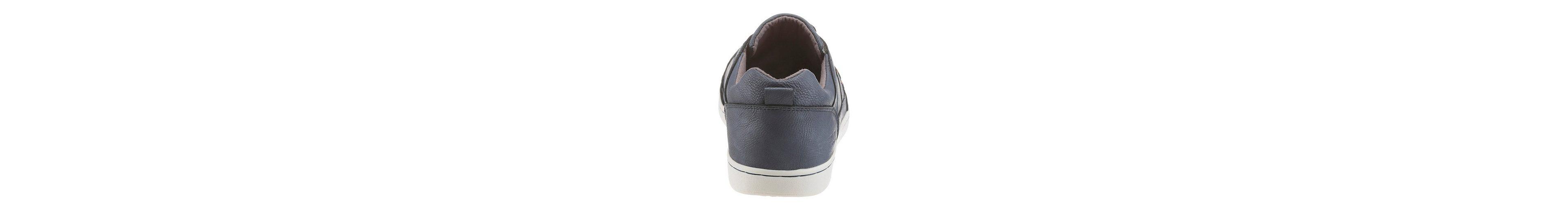 PETROLIO Sneaker, im coolen Materialmix