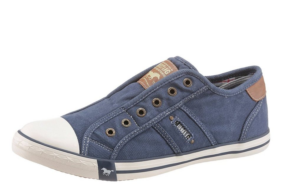 Mustang Shoes Sneaker in jeansblau