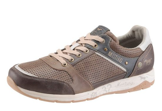 Mustang Shoes Sneaker, mit Perforierung