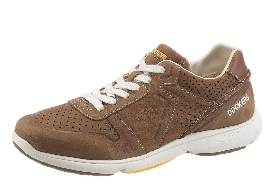 Dockers Sneaker in hellbraun