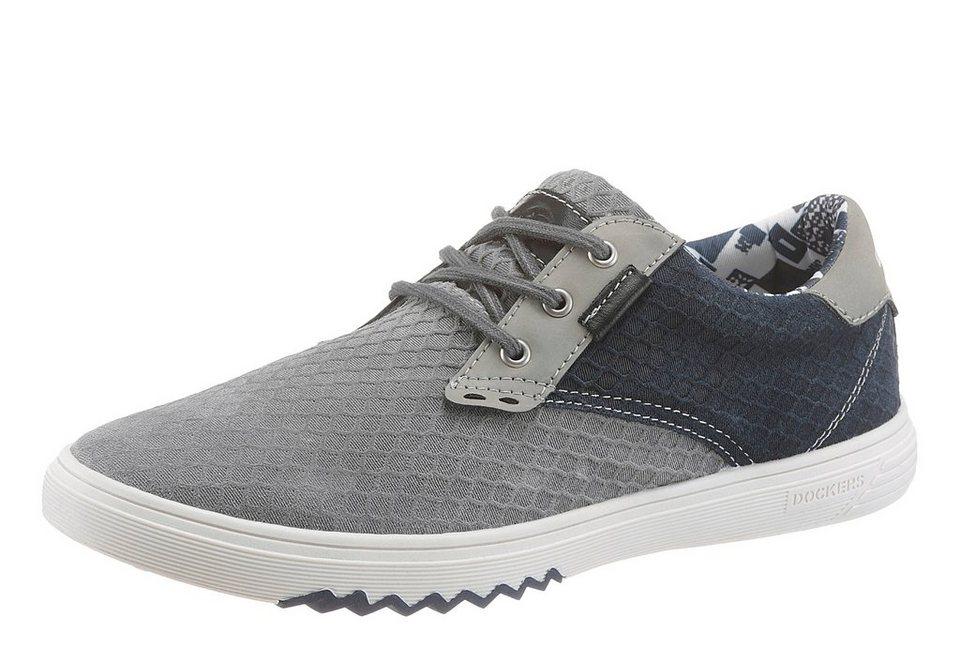 Dockers Sneaker mit herausnehmbarer Innensohle in graublau