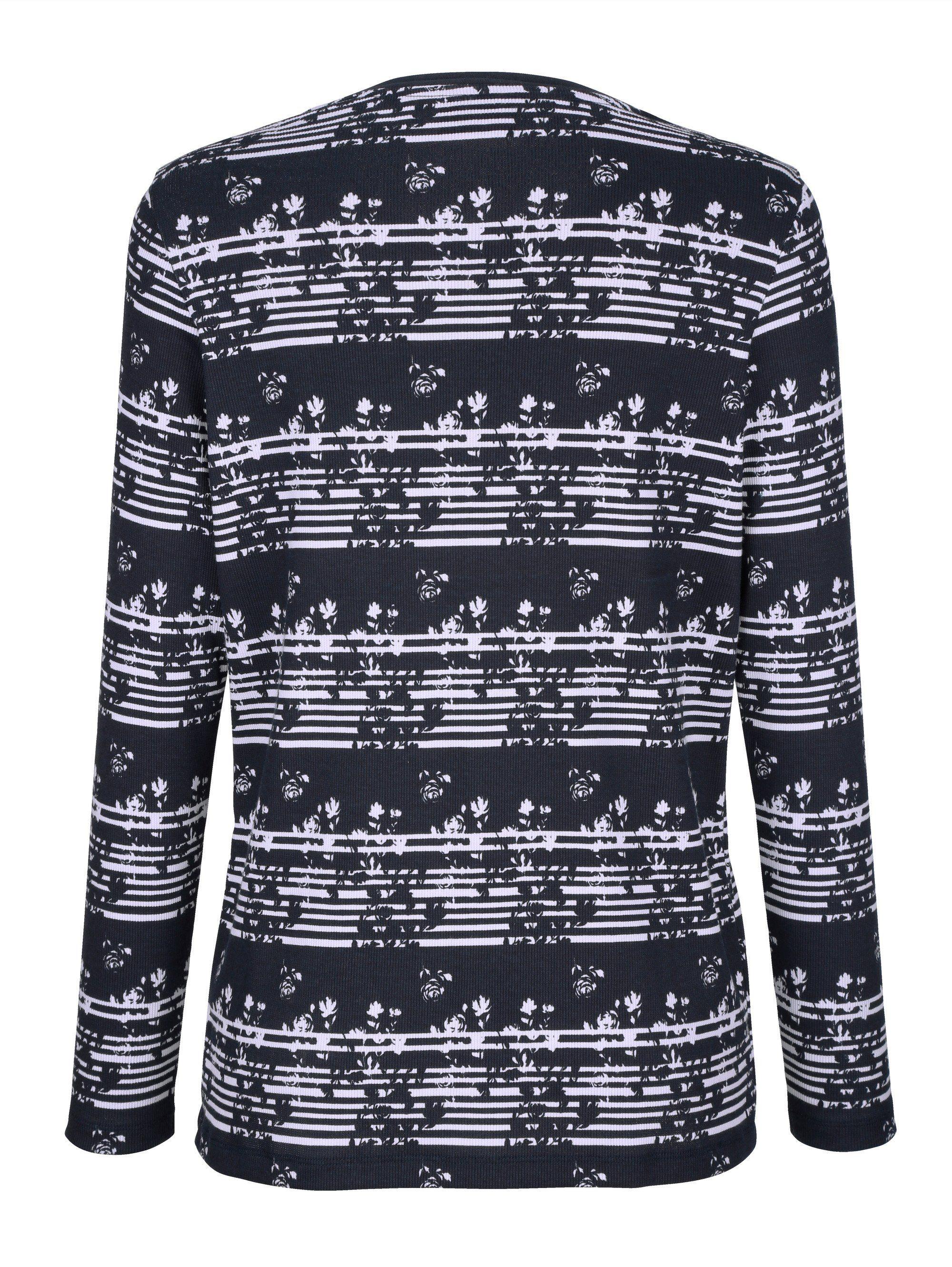 Paola Shirtjacke aus elastischer Rippenware kaufen