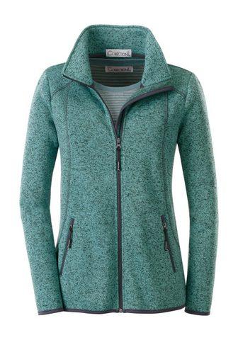 CASUAL LOOKS Флисовый пуловер в attraktiver Melange...