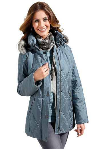 Wega Fashion Jacke in attraktiver Rautensteppung