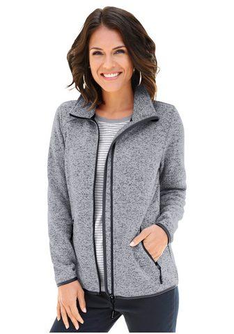 CASUAL LOOKS Flisinis megztinis in attraktiver Mela...