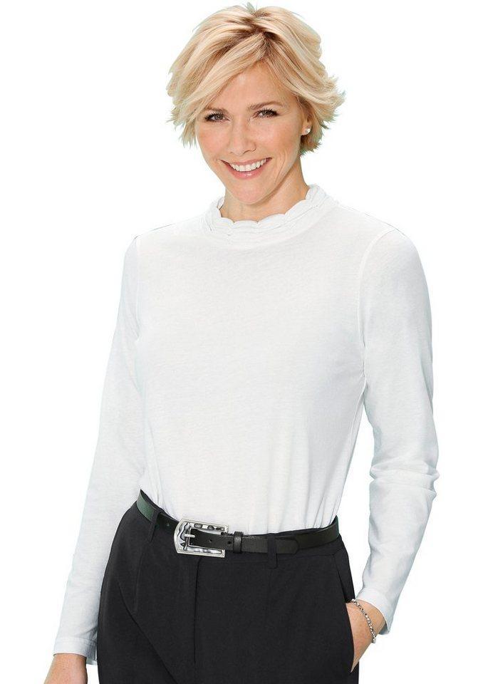 Classic Shirt in besonders hautsympathischer PUREWEAR-Qualität in wollweiß