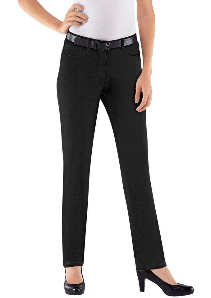 Classic Basics Jeans in bequemer Qualität in schwarz