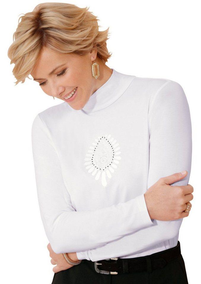 Classic Shirt in anschmiegsamer Qualität in weiß