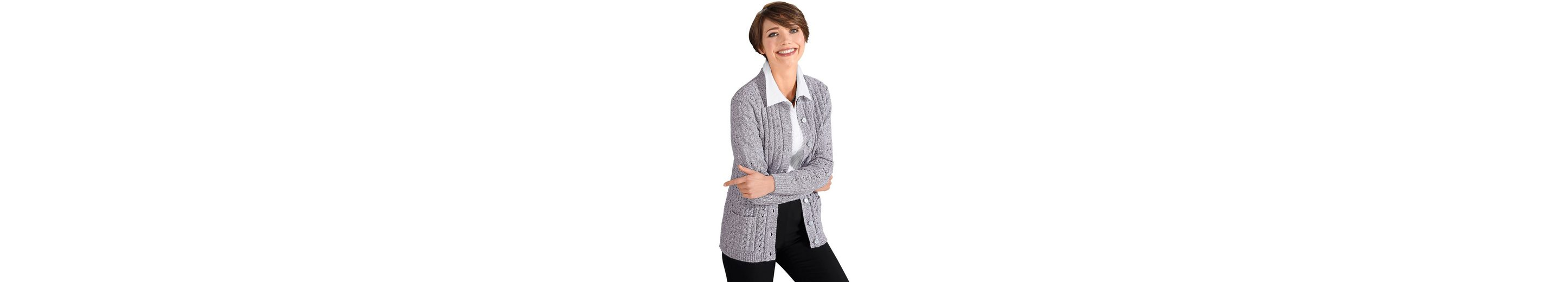 Zum Verkauf Offizieller Seite Classic Basics Strickjacke in Melange-Qualität Auslass Finish Günstige Online Schnelle Lieferung Günstiger Preis sLDEAKYE