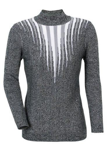 Classic Basics Pullover mit effektvollem Jacquarddessin