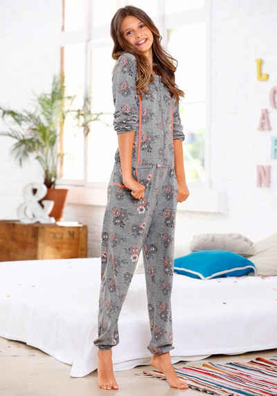 c3a87920ab728a Kinder Schlaf Jumpsuit Madchen Pyjama Overall Schlafanzug Lang Gr